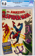 Silver Age (1956-1969):Superhero, The Amazing Spider-Man #21 (Marvel, 1965) CGC VF/NM 9.0 Off-white to white pages....