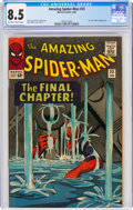 Silver Age (1956-1969):Superhero, The Amazing Spider-Man #33 (Marvel, 1966) CGC VF+ 8.5 Off-white to white pages....
