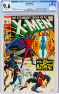 Silver Age (1956-1969):Superhero, X-Men #63 (Marvel, 1969) CGC NM+ 9.6 White pages....