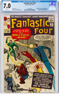 Silver Age (1956-1969):Superhero, Fantastic Four #20 (Marvel, 1963) CGC FN/VF 7.0 White pages....