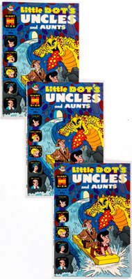 Little Dot's Uncles and Aunts #29-31 Box Lot (Harvey, 1969) Condition: Average VF/NM