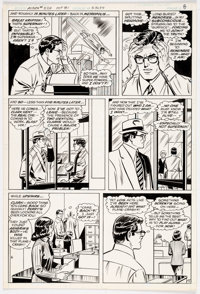 Curt Swan and Frank Chiaramonte Action Comics #524 Story Page 7 Original Art (DC Comics, 1981)