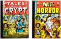 Books:Anthology, The Complete EC Library: Tales from the Crypt and Vault of Horror (Russ Cochran, 1979-82).... (Total: 2 Items)