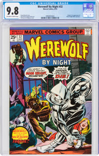 Werewolf by Night #32 (Marvel, 1975) CGC NM/MT 9.8 Off-white to white pages