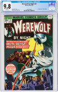 Bronze Age (1970-1979):Horror, Werewolf by Night #33 (Marvel, 1975) CGC NM/MT 9.8 White pages....