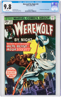 Werewolf by Night #33 (Marvel, 1975) CGC NM/MT 9.8 White pages