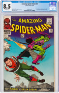 Silver Age (1956-1969):Superhero, The Amazing Spider-Man #39 (Marvel, 1966) CGC VF+ 8.5 Off-white pages....