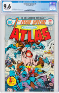Bronze Age (1970-1979):Superhero, 1st Issue Special #1 Atlas (DC, 1975) CGC NM+ 9.6 Off-white pages....