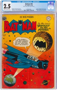 Batman #59 (DC, 1950) CGC GD+ 2.5 Cream to off-white pages
