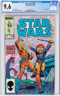 Modern Age (1980-Present):Science Fiction, Star Wars #102 (Marvel, 1985) CGC NM+ 9.6 White pages....