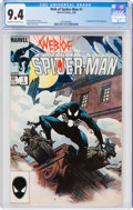 Modern Age (1980-Present):Superhero, Web of Spider-Man #1 (Marvel, 1985) CGC NM 9.4 Off-white to white pages....