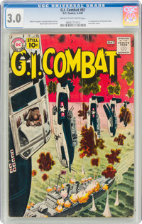 G.I. Combat #87 (DC, 1961) CGC GD/VG 3.0 Cream to off-white pages