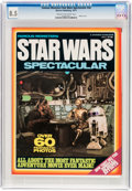 Magazines:Science-Fiction, Famous Monsters Star Wars Spectacular #nn (Warren, 1977) CGC VF+ 8.5 Cream to off-white pages....