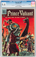 Silver Age (1956-1969):Adventure, Four Color #900 Prince Valiant - Bethlehem Pedigree (Dell, 1958) CGC NM 9.4 Off-white to white pages....