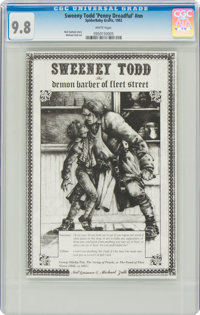Sweeney Todd 'Penny Dreadful' #nn (SpiderBaby, 1992) CGC NM/MT 9.8 White pages