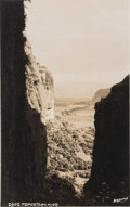 Photographs, Hugo Brehme (German, 1882-1954). A Group of Four Mexican Landscape Postcards (4 works). Gelatin silver. 3-3/8 x 5-3/8 in...