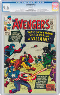 Silver Age (1956-1969):Superhero, The Avengers #15 (Marvel, 1965) CGC NM+ 9.6 White pages....