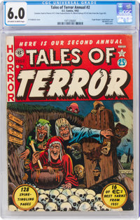 Tales of Terror Annual #2 (EC, 1952) CGC FN 6.0 Off-white to white pages