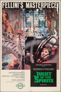 """Movie Posters:Foreign, Juliet of the Spirits (Rizzoli, 1965). Folded, Fine/Very Fine. One Sheet (27"""" X 41""""). Foreign.. ..."""