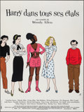 """Movie Posters:Comedy, Deconstructing Harry (BAC, 1998). Folded, Very Fine-. French Grande (45.5"""" X 61"""") Floc'h Artwork. Comedy.. ..."""