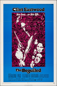 "The Beguiled (Universal, 1971). Folded, Very Fine. One Sheet (27"" X 41""). Thriller"