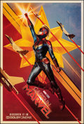 """Movie Posters:Action, Captain Marvel (Walt Disney Studios, 2019). Rolled, Very Fine/Near Mint. One Sheet (26.75"""" X 39.75"""") DS Teaser, Dolby Cinema..."""