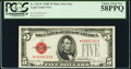 Small Size:Legal Tender Notes, Fr. 1531* $5 1928F Wide I Legal Tender Star Note. PCGS Choice About New 58PPQ.. ...