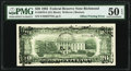 Matte Offset Printing of Face to Back Error Fr. 2079-E $20 1993 Federal Reserve Note. PMG About Uncirculated 50 EPQ