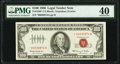 Small Size:Legal Tender Notes, Fr. 1550* $100 1966 Legal Tender Star Note. PMG Extremely Fine 40.. ...
