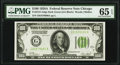 Fr. 2151-G $100 1928A Dark Green Seal Federal Reserve Note. PMG Gem Uncirculated 65 EPQ