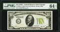 Small Size:Federal Reserve Notes, Fr. 2003-G $10 1928C Federal Reserve Note. PMG Choice Uncirculated 64 EPQ.. ...