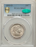 1893-O 25C MS63 PCGS. CAC. PCGS Population: (52/86 and 0/2+). NGC Census: (25/54 and 0/0+). CDN: $400 Whsle. Bid for NGC...