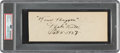 """Baseball Collectibles:Others, 1927 Babe Ruth """"Four Bagger"""" Signed Cut Signature...."""