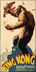 """Movie Posters:Horror, King Kong (S2 Art Group, 1997). Rolled, Very Fine+. Reproduction Three Sheet (41"""" X 84""""). Horror.. ..."""