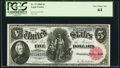 Large Size:Legal Tender Notes, Fr. 79 $5 1880 Legal Tender PCGS Very Choice New 64.. ...