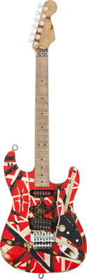 2000 Fender EVH Frankenstrat Solid Body Electric Guitar, Serial #61071