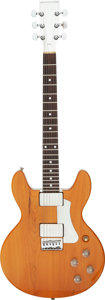 Musical Instruments:Electric Guitars, Circa 1977 Travis Bean TB-1000S Natural Solid Body Electric Guitar, Serial #1484.. ...