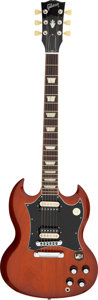 Musical Instruments:Electric Guitars, 2012 Gibson SG Natural Solid Body Electric Guitar, Serial #116721431.. ...