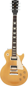 Musical Instruments:Electric Guitars, 2012 Gibson Les Paul Goldtop Solid Body Electric Guitar, Serial #100921334.. ...