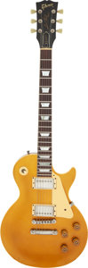 Musical Instruments:Electric Guitars, 1982 Gibson Les Paul Goldtop 30th Anniversary Solid Body Electric Guitar, Serial #B0041.. ...
