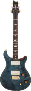 Musical Instruments:Electric Guitars, 2012 Paul Reed Smith (PRS) Modern Eagle Blue Solid Body Electric Guitar, Serial #7 127451.. ...