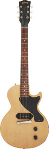 Musical Instruments:Electric Guitars, 2007 Gibson Les Paul Junior TV Yellow Solid Body Electric Guitar, Serial #6 7187.. ...