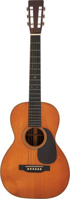 1930 Martin 0-28 Natural Acoustic Guitar, Serial #43901