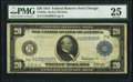 Large Size:Federal Reserve Notes, Fr. 988 $20 1914 Federal Reserve Note PMG Very Fine 25.. ...
