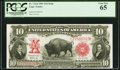 Fr. 121 $10 1901 Mule Legal Tender PCGS Gem New 65
