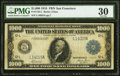 Fr. 1133-L $1,000 1918 Federal Reserve Note PMG Very Fine 30