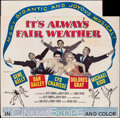 """Movie Posters:Musical, It's Always Fair Weather (MGM, 1955). Folded, Fine. Six Sheet (79"""" X 80""""). Musical.. ..."""