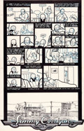 Original Comic Art:Panel Pages, Chris Ware Acme Novelty Library #1 Story Page 3 Jimmy Corrigan Original Art (Fantagraphics, 1993)....