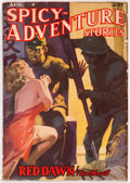 Pulps:Adventure, Spicy Adventure Stories - August 1939 (Culture) Condition: FN....