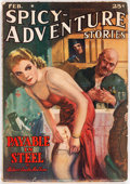 Pulps:Adventure, Spicy Adventure Stories #1940-02 (Culture, 1940) Condition: FN....
